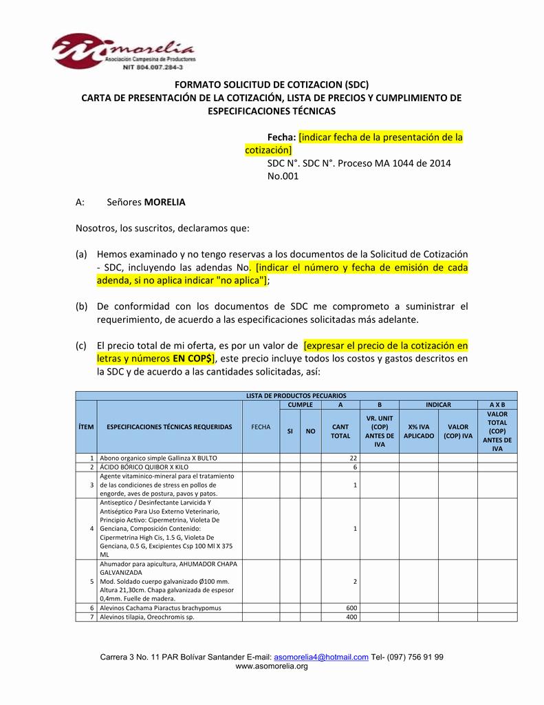 Formato De Cotizacion De Servicio Luxury formato Cotizacion Word