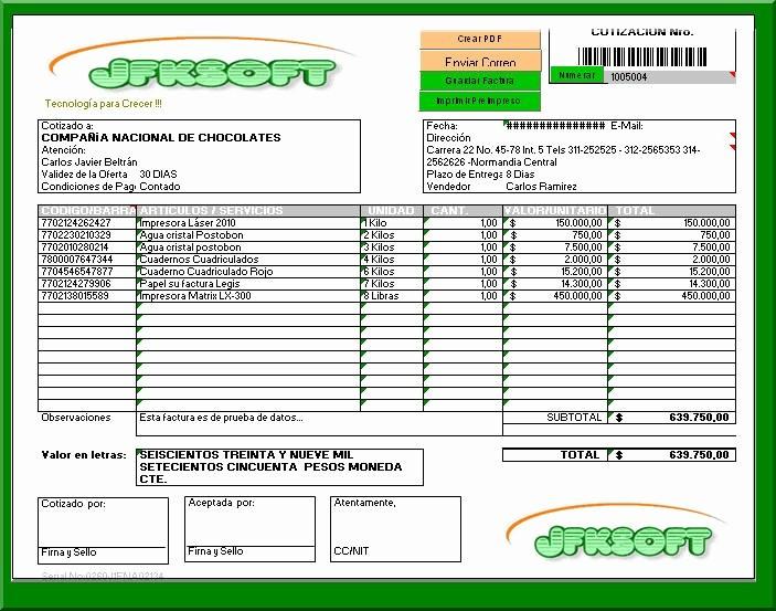 Formato De Cotizacion En Excel Elegant asistencia Administrativa