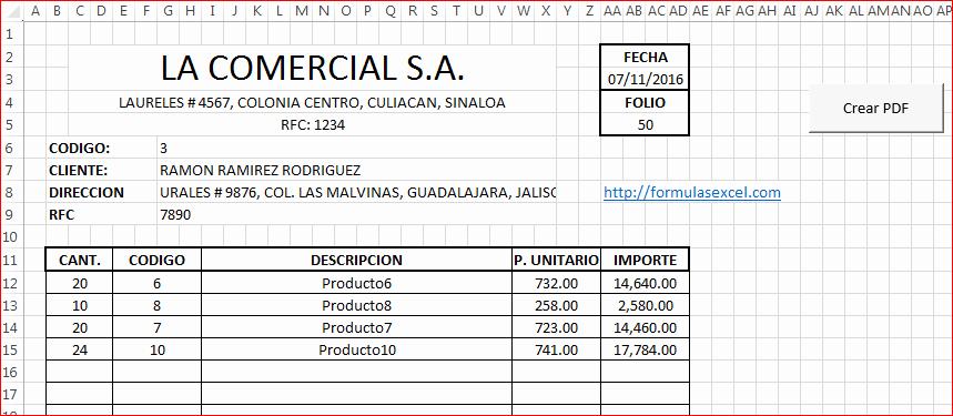 Formato De Cotizacion Para Llenar Beautiful Cotizaciones Con formulas Excel Y Vba – formulas Excel