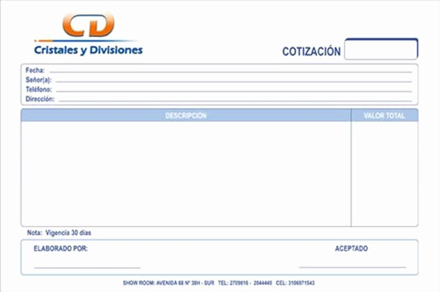 Formato De Cotizacion Para Llenar Fresh Documentos Mercantiles Página 2 Monografias