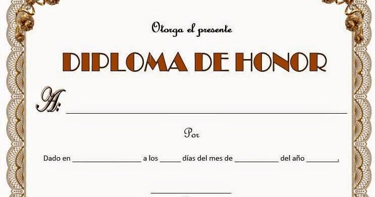 Formato De Diplomas Para Llenar Best Of Diplomas En Blanco Para Rellenar Diplomas De Honor M 225 S