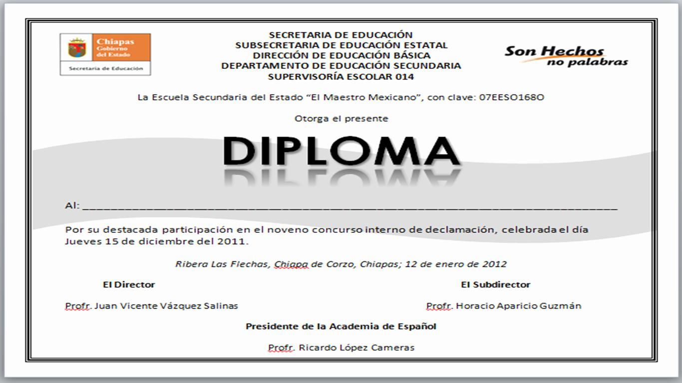 Formato De Diplomas Para Llenar Best Of formato Para Diplomas – Yo soy Roiver Bienvenido A Mi Blog