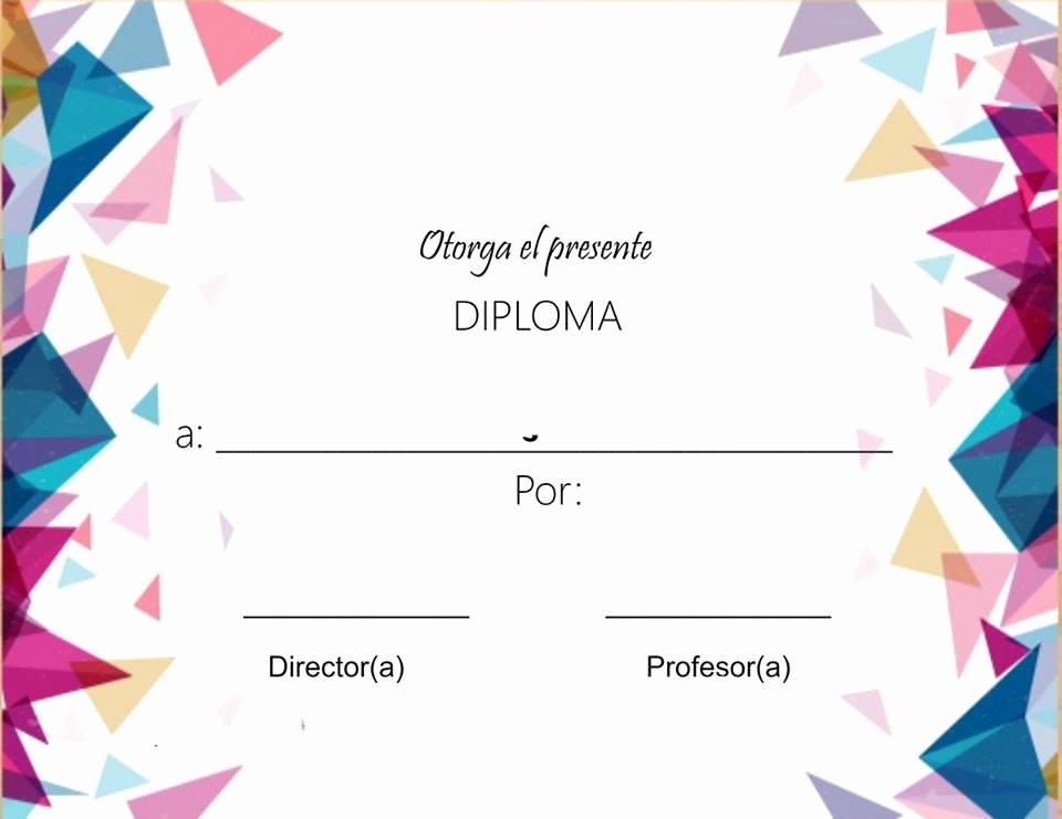 Formato De Diplomas Para Llenar Elegant Bienvenido A Fichas Escolares Fichas Escolaresfichas