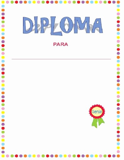 Formato De Diplomas Para Llenar Elegant Diplomas Para Llenar E Imprimir Gratis Imagui
