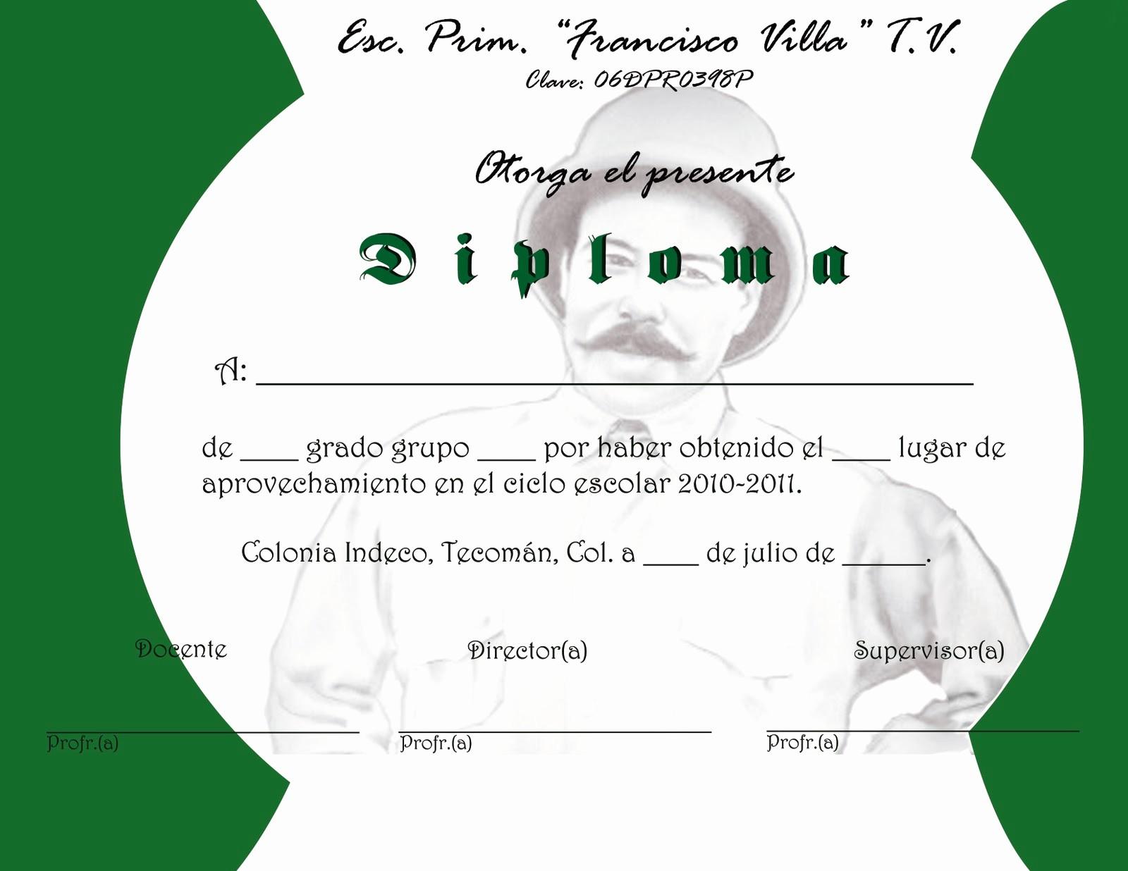 Formato De Diplomas Para Llenar Elegant formato De Diplomas Para Llenar Proyectos Y Algo M 225 S
