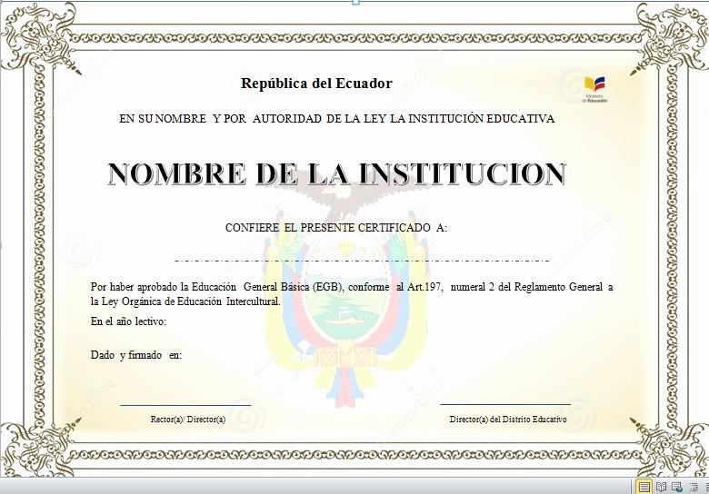Formato De Diplomas Para Llenar Elegant Plantillas De Diplomas Para Terminación De Primaria