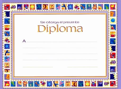 Formato De Diplomas Para Llenar Inspirational Marcos Para Diplomas Gratis Para Imprimir Imagui
