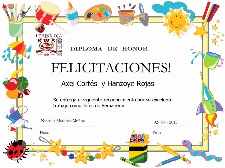 Formato De Diplomas Para Llenar Inspirational Más De 25 Ideas Increbles sobre Diplomas Para Preescolar