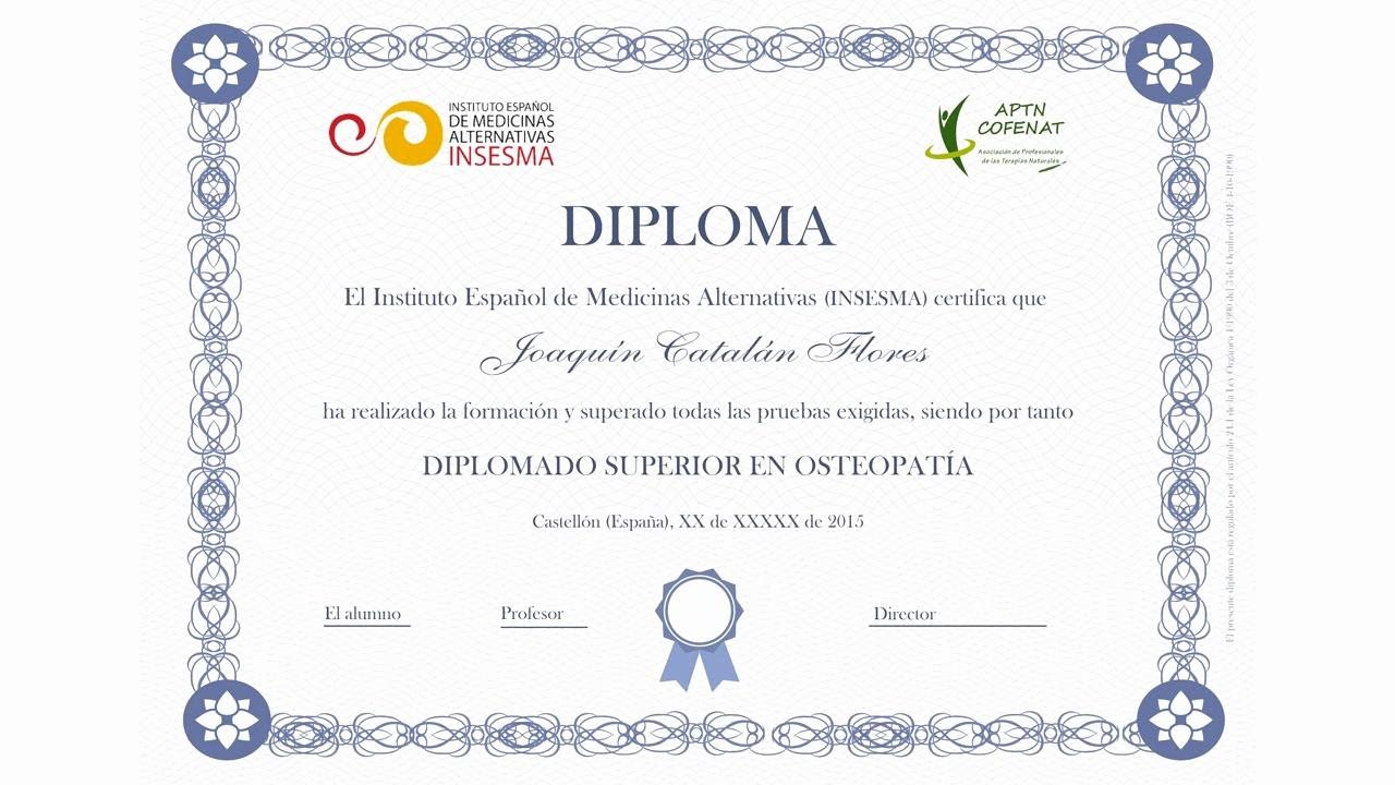 Formato De Diplomas Para Llenar Lovely Cómo Hacer Un Diploma En Word