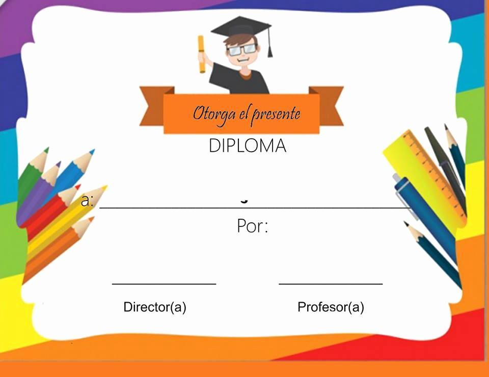 Formato De Diplomas Para Llenar Unique formato De Diplomas Para Llenar Diploma Para Pletar Y