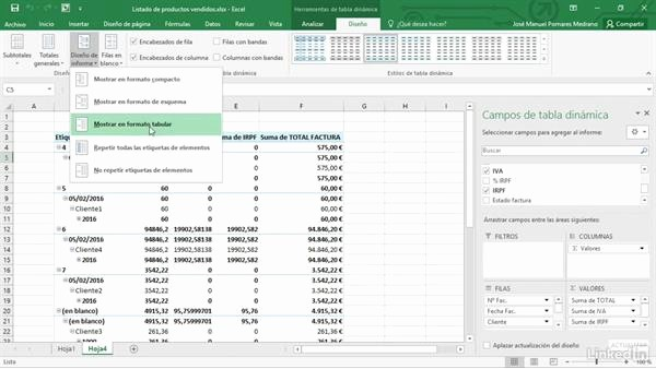 Formato De Facturas En Excel Awesome Listado De Facturas Desde Un Registro De Ventas En Excel