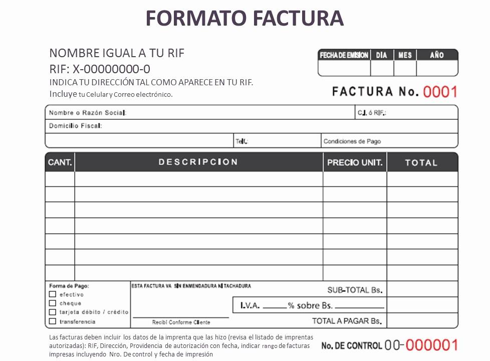 Formato De Facturas En Excel Unique Kairy Medina ¿qué Debes Saber Para Elegir Tu Talonario De