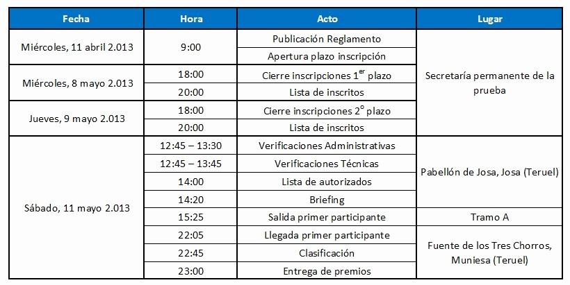 Formato De Horarios De Trabajo Best Of Programa – Horario