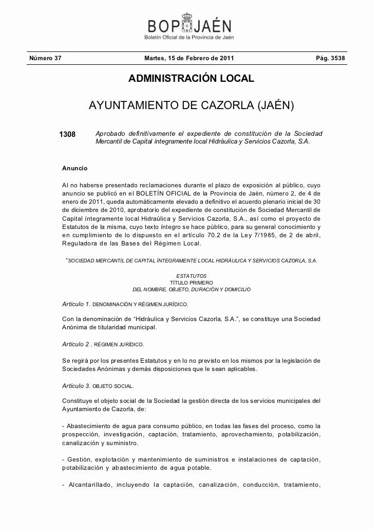 Formato De Minuta En Blanco Elegant Expe Nte De Constitución De La sociedad Mercantil De