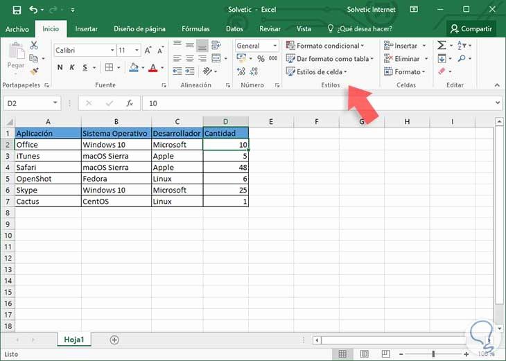 Formato De Pyg En Excel Fresh Cómo Aplicar formato Condicional En Excel 2016 solvetic