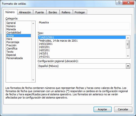 Formato De Pyg En Excel Inspirational formato De Fechas Y Horas • Excel total