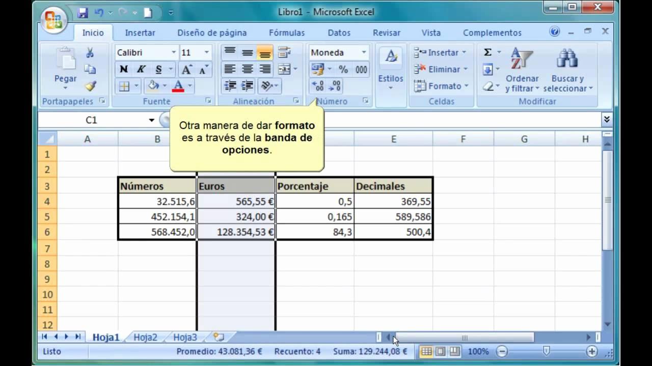 Formato De Pyg En Excel Unique Excel 2007 6 4 1 formato De Celdas