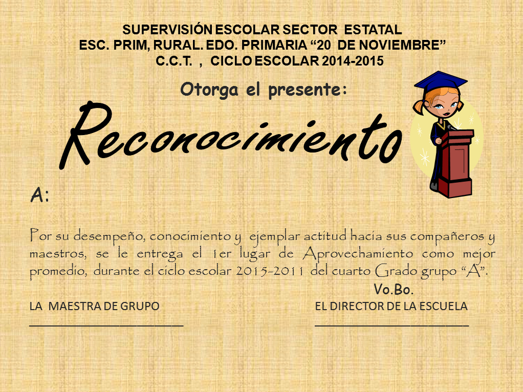 Formato De Reconocimiento Para Editar Awesome Escritorio Virtual Mexico formatos De Diplomas Para