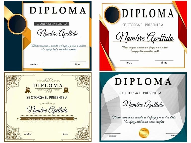 MLM plantillas diplomas reconocimiento psd 25 editables JM