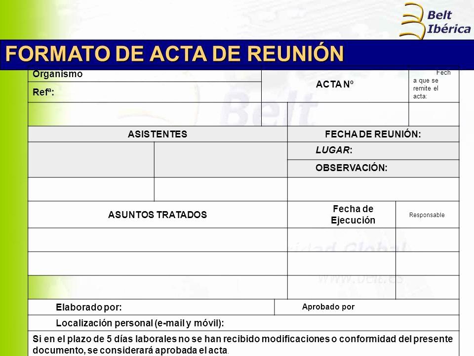 Formato De Reuniones De Trabajo Beautiful formato Acta Reunion De Trabajo Zoro Blaszczak