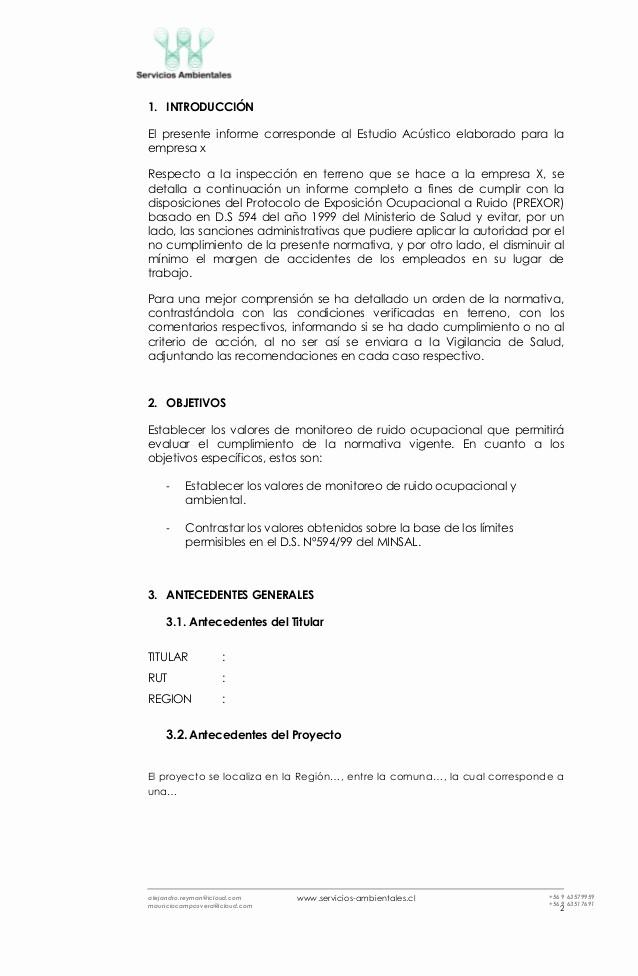 Formato De Un Informe Simple Beautiful formato Informe Técnico Prexor