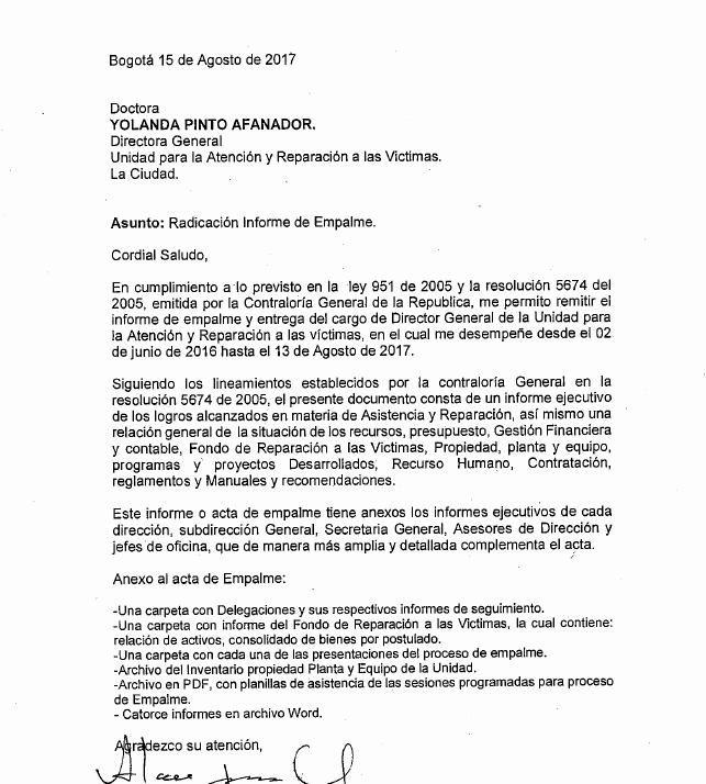 Formato De Un Informe Simple Inspirational Informe De Empalme De Alan Jara Urzola