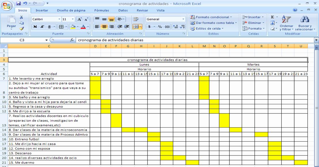 Formato Excel Cronograma De Actividades Unique formato De Cronograma De Trabajo En Excel
