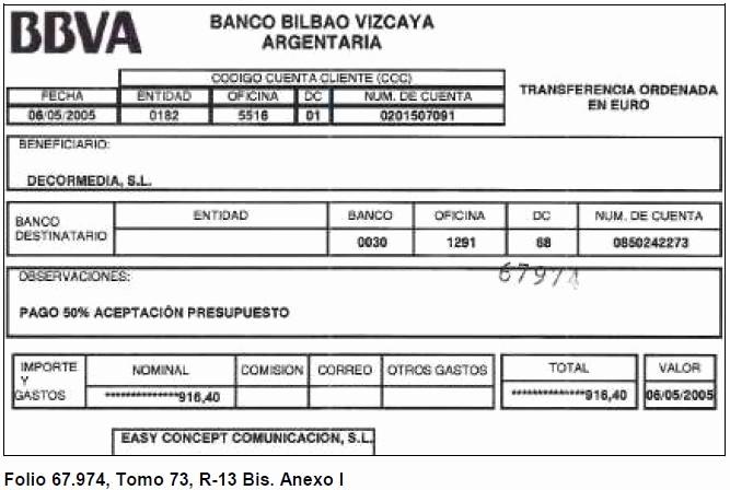 Formato Extracto Bancario En Excel Awesome Equipo Nizkor Informe Policial Analizando La