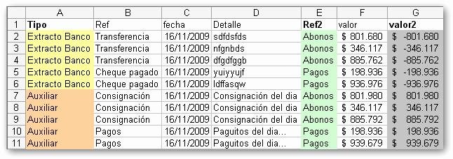 Formato Extracto Bancario En Excel Best Of Cruces De Informacion O Conciliaciones En Segundos Con