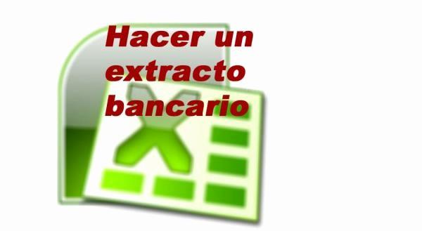 Formato Extracto Bancario En Excel Lovely Cómo Hacer Un Extracto Bancario En Excel