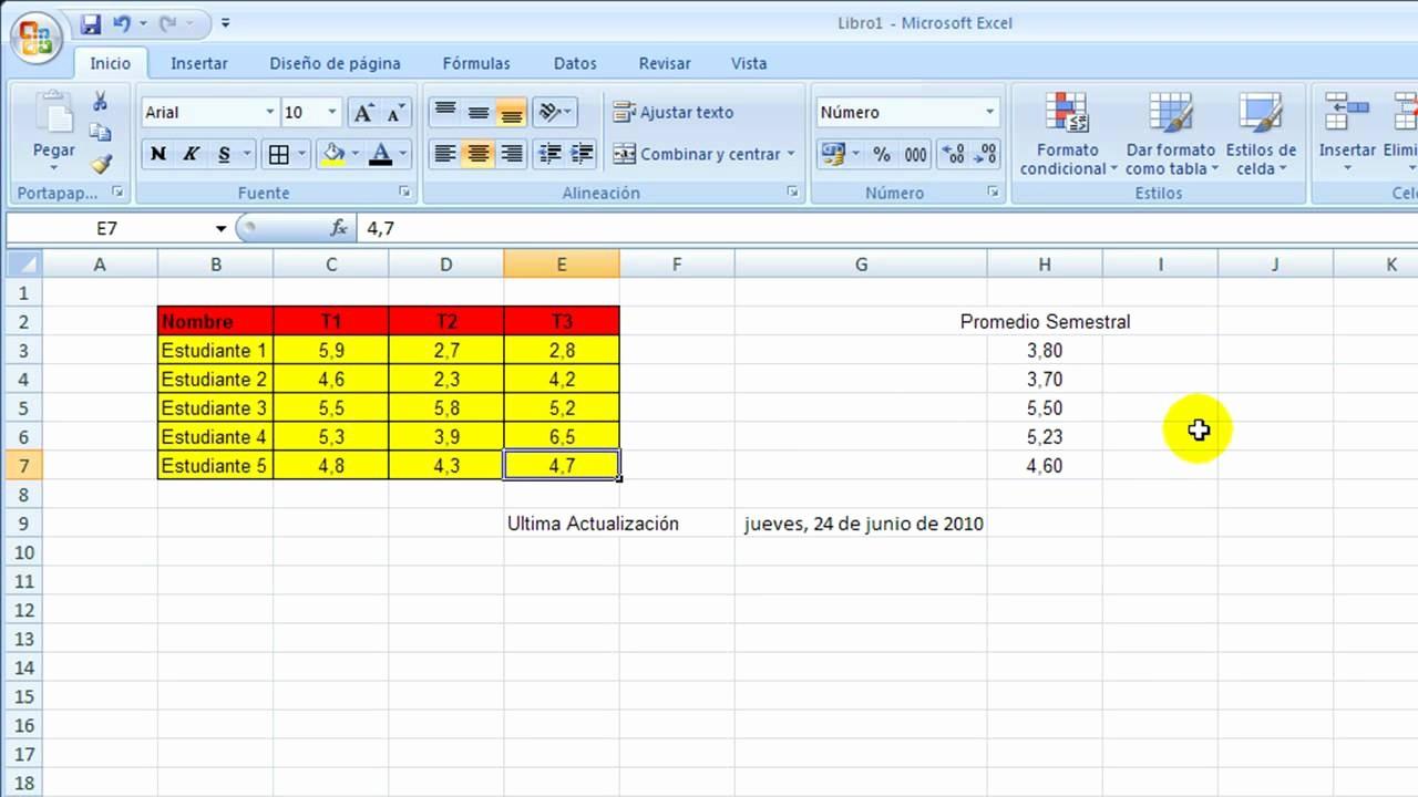 Formato Extracto Bancario En Excel Luxury 4 formato De Celdas [excel 2007]