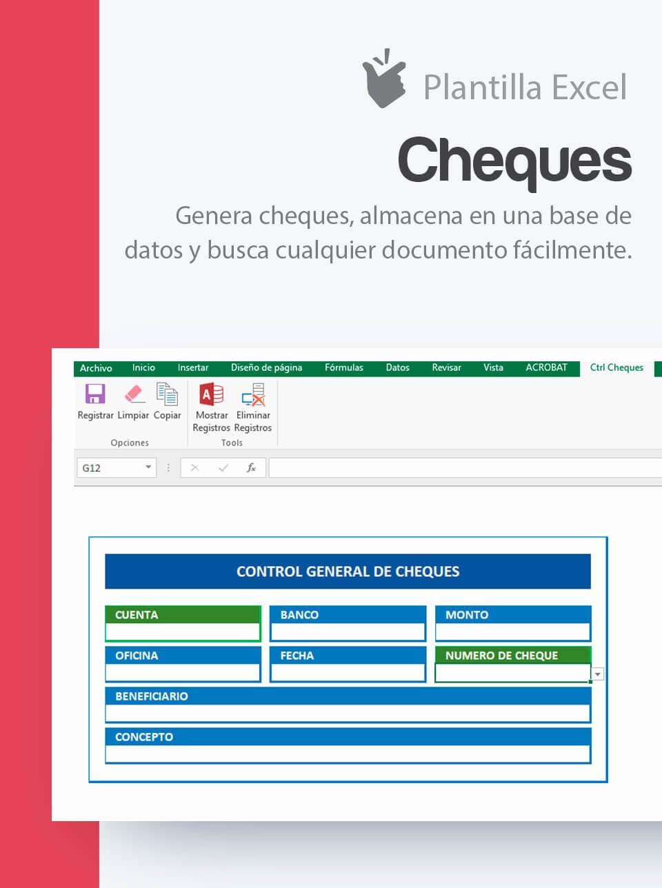 Formato Extracto Bancario En Excel Luxury Plantilla Para Generación De Cheques