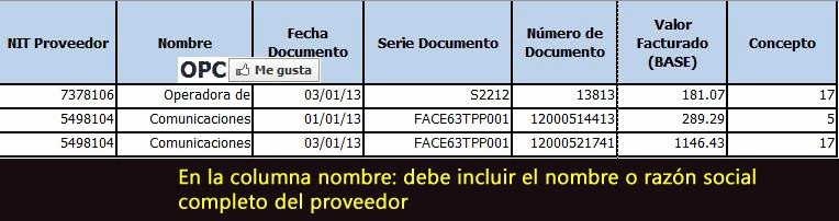 Formato Factura Regimen Simplificado Excel Elegant formato Excel Régimen Opcional Simplificado Para Retenisr2