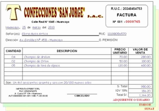 Formato Factura Regimen Simplificado Excel Lovely Contabilidad Gt Documentos Erciales Y soportes Contables