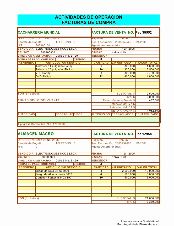 Formato Factura Regimen Simplificado Excel Unique Facturas En Excel 2