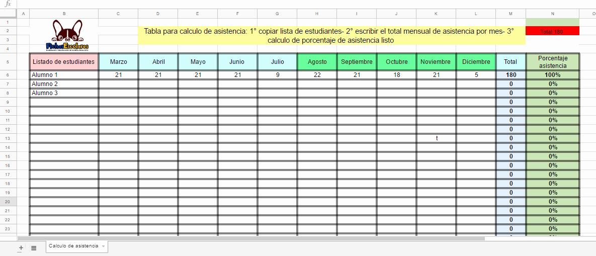 Formato Para asistencia De Alumnos Beautiful formato Lista De asistencia Laboral Idealstalist