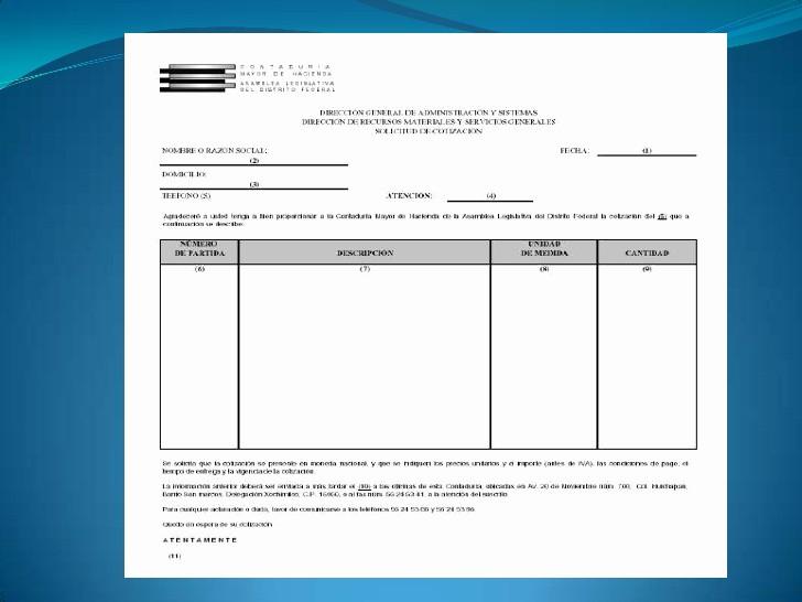 Formato Para Cotizaciones En Excel Inspirational Documentacion Administrativa