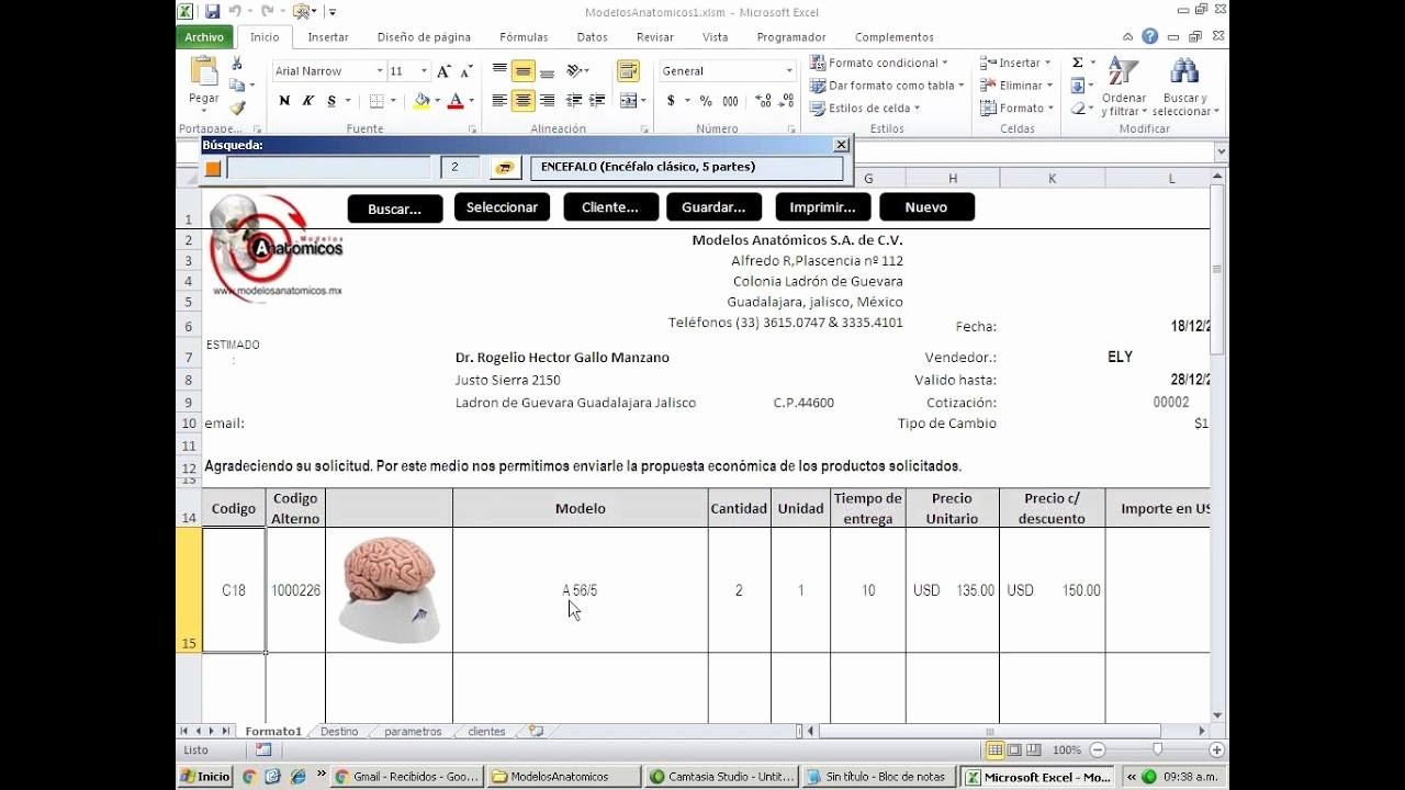 Formato Para Cotizaciones En Excel New Elaborando Cotizaciones Con Excel Con Imagenes De