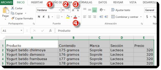 Formato Para Cotizar En Excel Luxury Los formatos En Excel