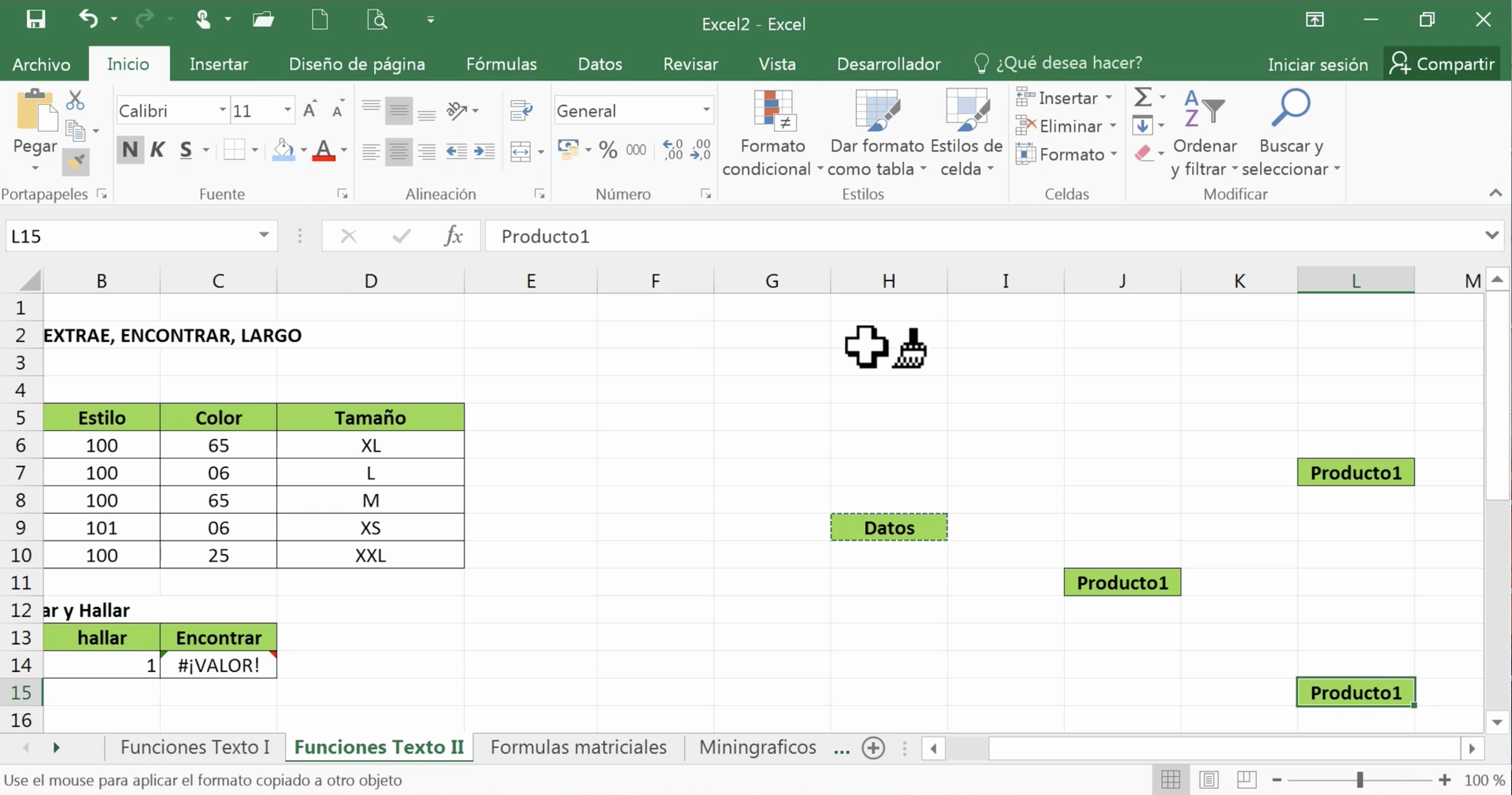 Formato Para Cotizar En Excel Unique Office 2016 Excel Copiar formato