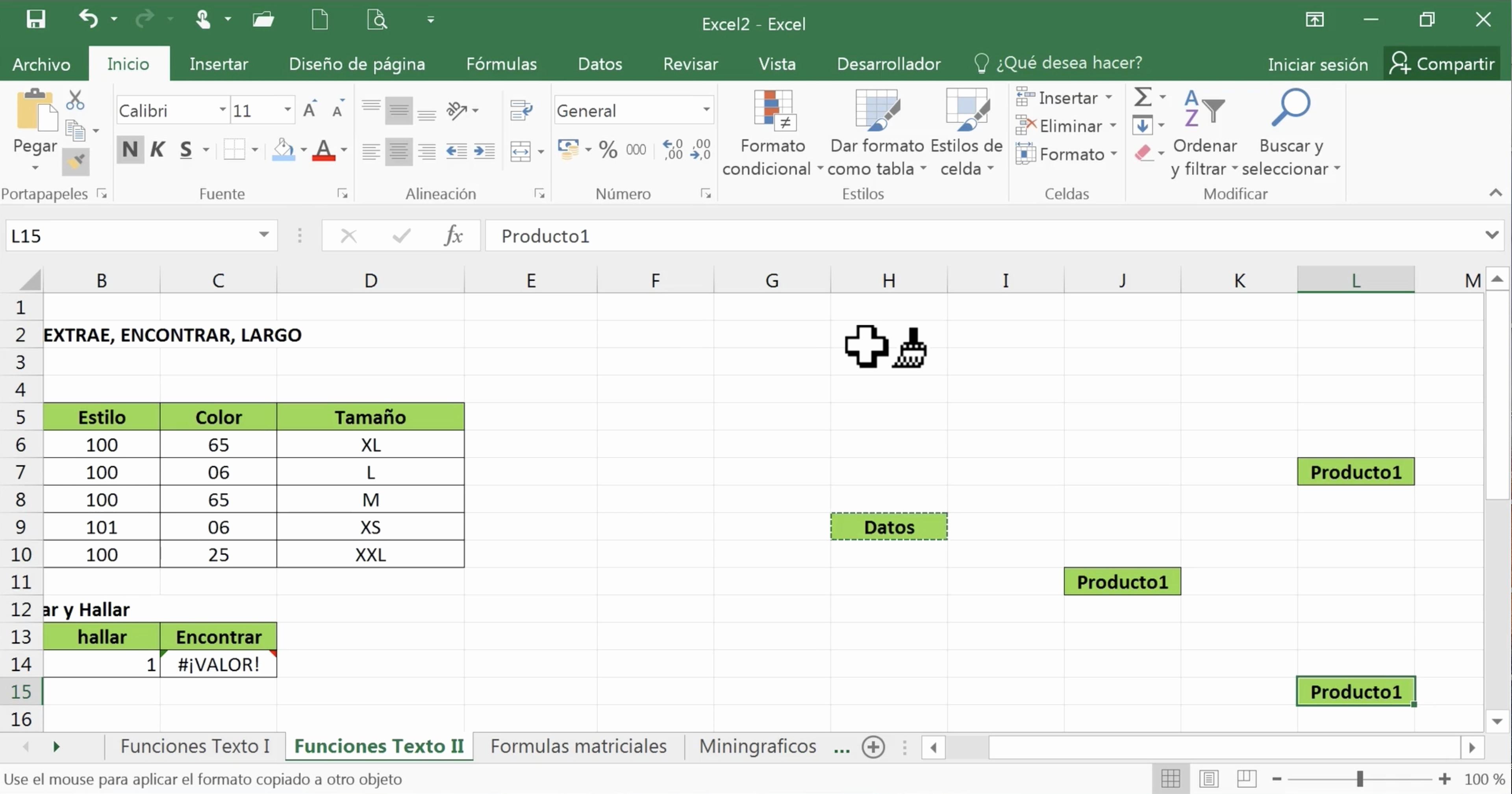 Formato Para Cotizar En Excel Unique Office 2016 Excel Copiar formato