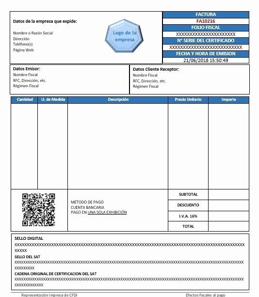 Formato Para Facturas En Excel Awesome 2018 06 formato Factura Regimen Simplificado Excel formato