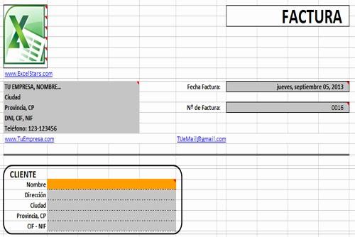 Formato Para Facturas En Excel New Plantillas Excel Plantilas Para Excel Plantillas