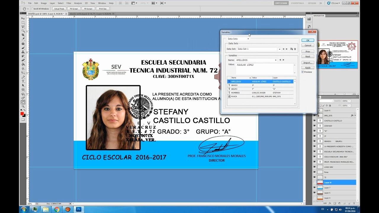 Formato Para Hacer Gafetes Word Beautiful Automatización Credenciales Pvc En Shop Y Excel
