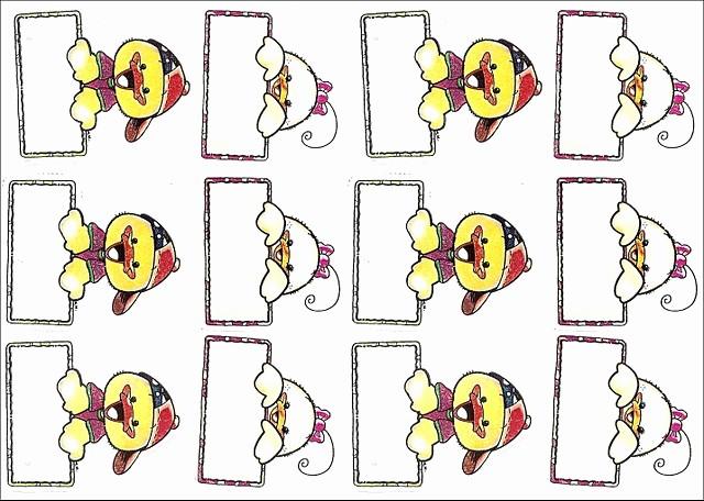 Formato Para Hacer Gafetes Word Fresh El Rincón Del normalista ¡más De 80 Gafetes