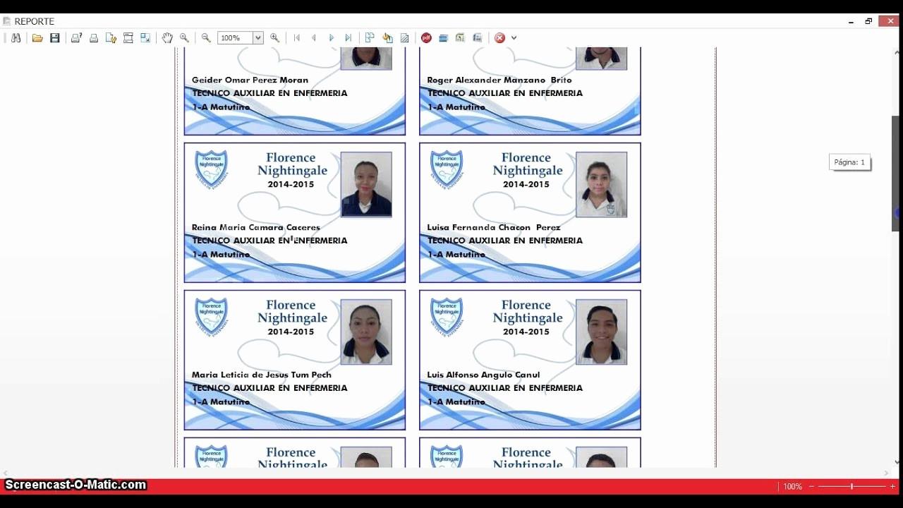 Formato Para Hacer Gafetes Word Fresh O Imprimir Credenciales En Pvc solo software