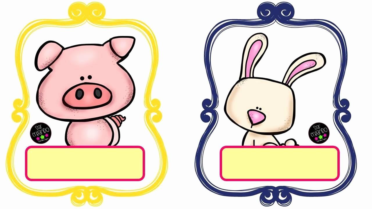 Formato Para Hacer Gafetes Word Fresh Sgblogosfera Mara José Argüeso Con Animales