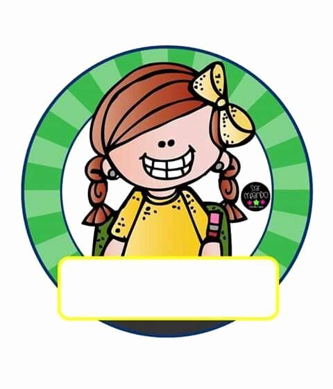 Formato Para Hacer Gafetes Word New Gafete Para Niños … Melonheadz