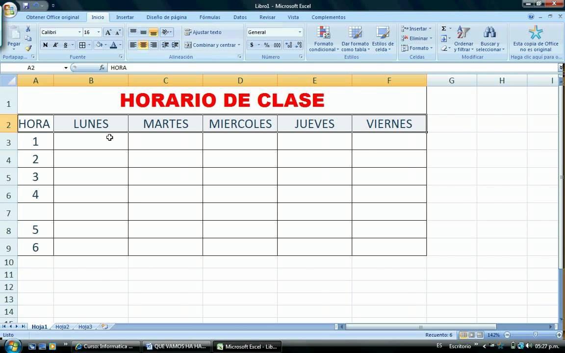 Formato Para Horarios De Trabajo Awesome ¿ O Aplicar formato A Un Horario Elaborado En Excel