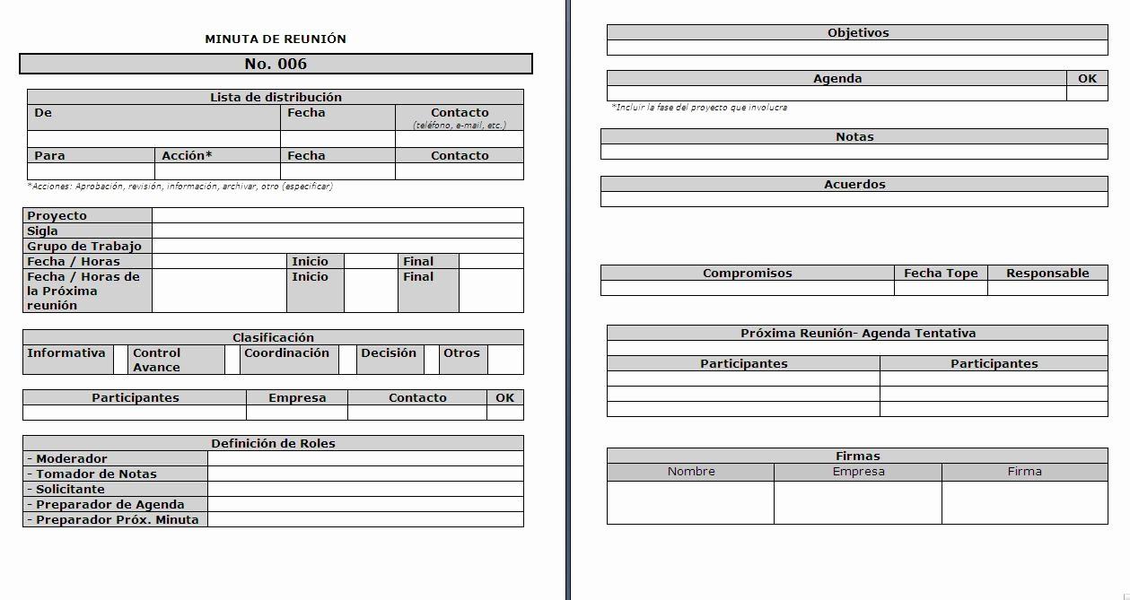 Formato Para Minuta De Trabajo Fresh Modelamiento De Procesos De Negocio formato De Minuta De